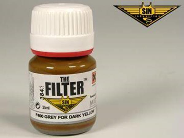 Mig Productions 35ml 00400 Filter - Grey Filter for Dark Yellow