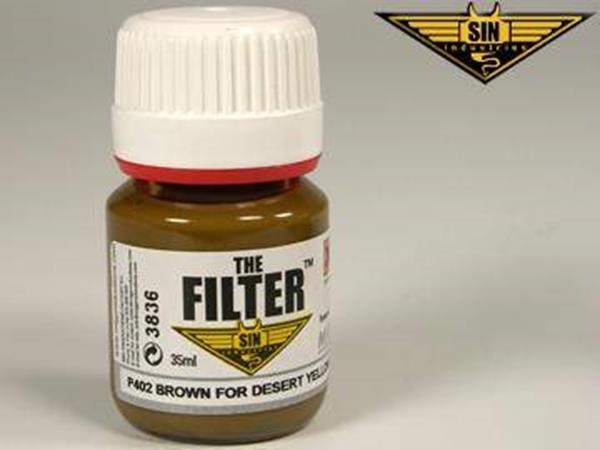 Mig Productions 35ml 00402 Filter - Brown Filter for Desert Yellow