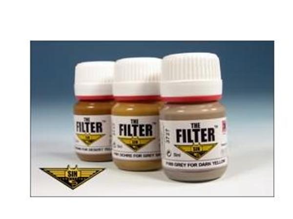 Mig Productions 3 x 25ml 00403 Afrika Korps Filter Set
