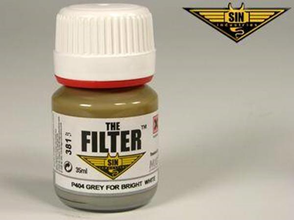 Mig Productions 35ml 00404 Filter - Grey Filter for Bright White