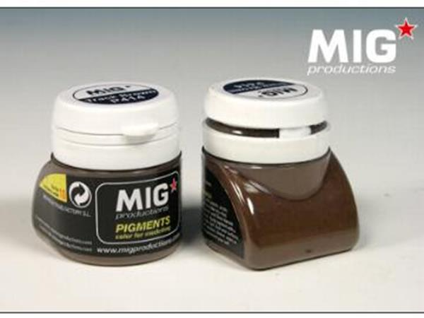Mig Productions 20ml 00414 Pigment - Track Brown