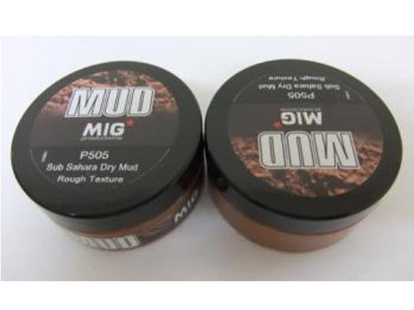 Mig Productions 75ml 00505 Sub Sahara Dry Mud. Rough texture