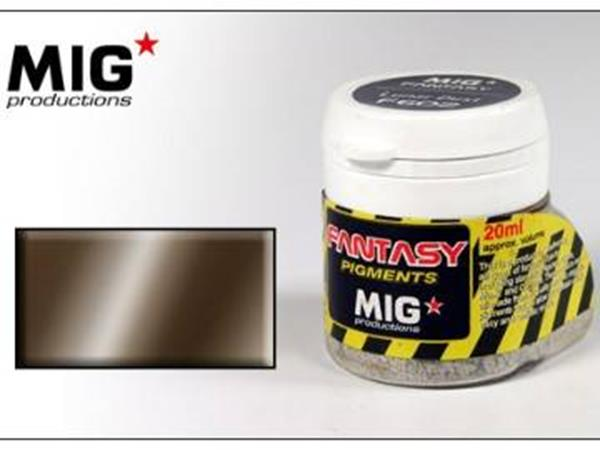 Mig Productions 20ml 00610 Pigment - Metallic Carbon Steel