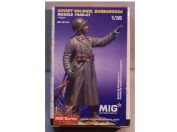 Mig Productions 1/35 35131 Soviet Soldier Barbarossa