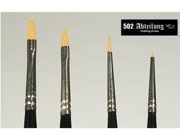 Mig Productions na ABT1850030 General Purpose Finishing and Effects Brushes (4)