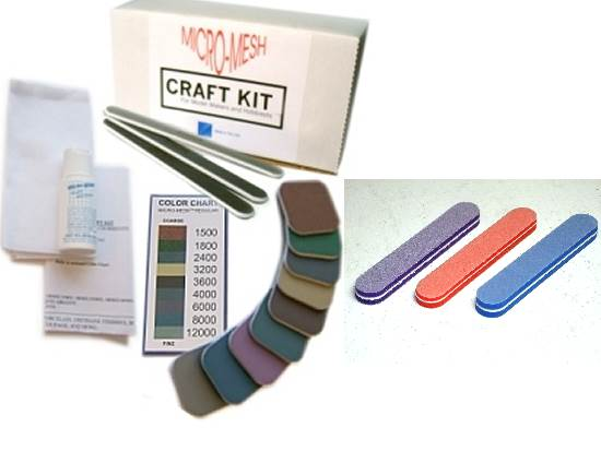 Micro Mesh - CRAFT Model Makers Craft Kit and Sponge Set