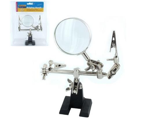 Model Craft - PCL2228 Helping Hands with Glass Magnifier