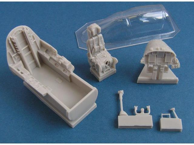 Pavla 1/48 C48028 Cockpit set for U-2S + vacu canopy For kit: Italeri/Academy