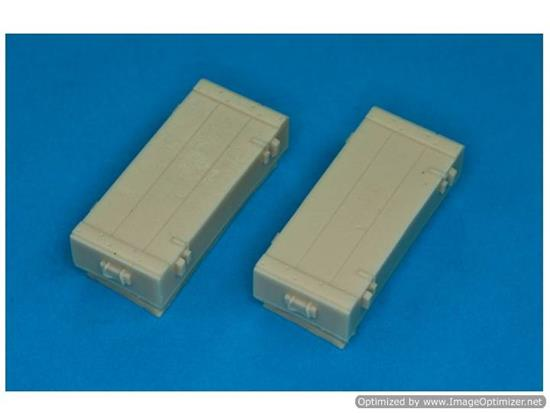 RBM 1/35 35D11 Cases for Panzerfaust 60mm 2 Pieces