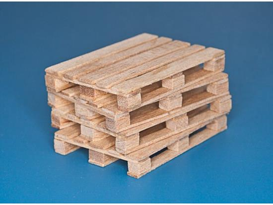 RBM 4 x natural wood pallets 35D30