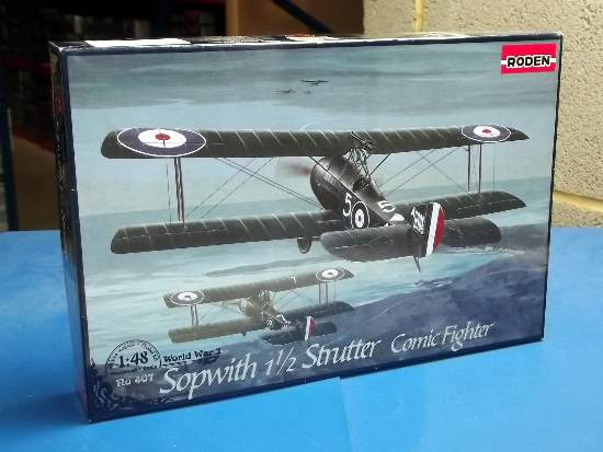 Roden 1/48 0407 Sopwith 1 1/2 Strutter Comic Fighter