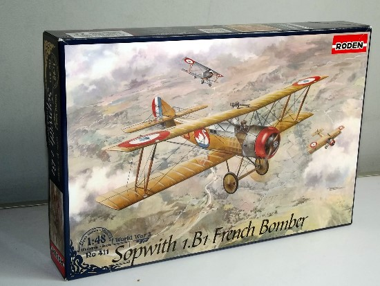 Roden 1/48 0411 Sopwith 1.B1 French Bomber