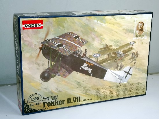 Roden 1/48 0421 Fokker D.VII Albatros Early