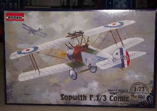 Roden 1/72 051 Sopwith Comic