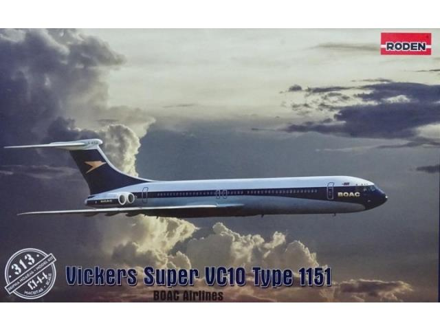 Roden 1/144 313 Vickers Super VC10 Type 1151