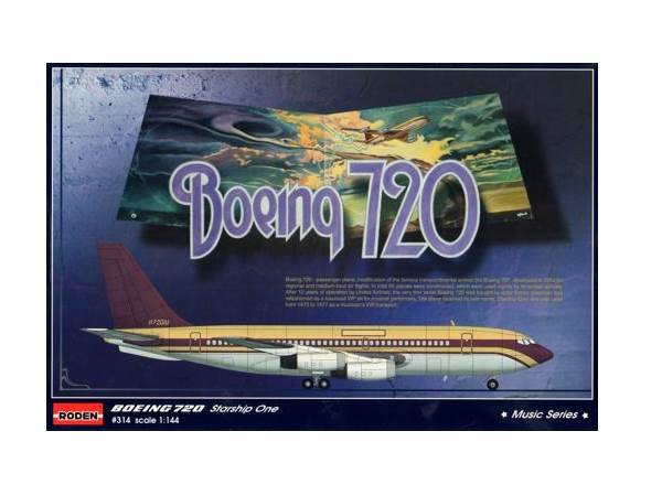 Roden 1/144 314 Boeing 720 Starship One