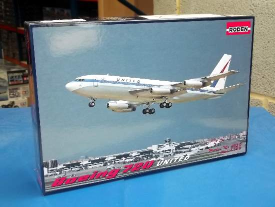 Roden 1/144 320 Boeing 720 United Airlines