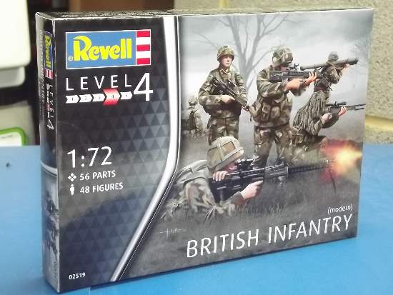 Revell - Royal Army (modern) 1/72 #2519