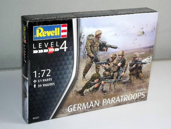 Revell - German Paratroopers Modern 1/72 #2521