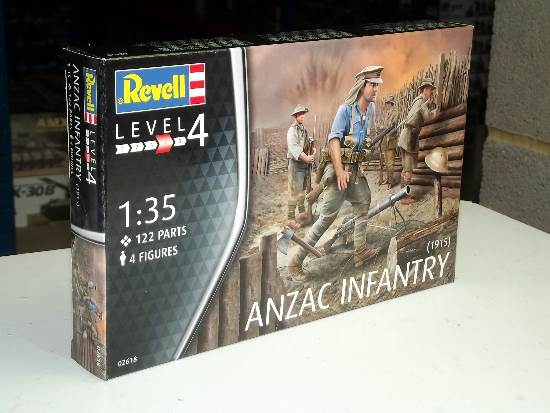 Revell 1/35 2618 Anzac Infantry (1915)