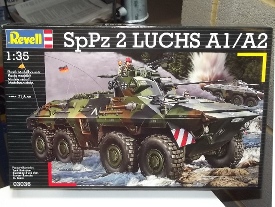 Revell 1/35 3036 SpaePz 2 Luchs with turret
