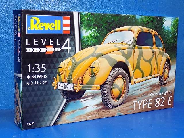 Revell 1/35 3247 German Staff Car Type 82E