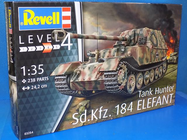 Revell 1/35 3254 Sd.Kfz.184 Tank Hunter ELEFANT