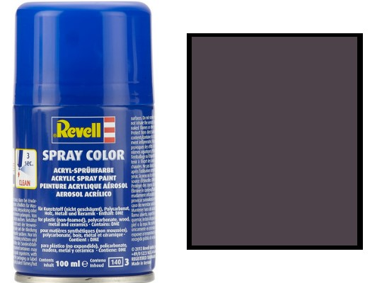 Revell 100ml 34107 007 Black Gloss Acrylic Spray