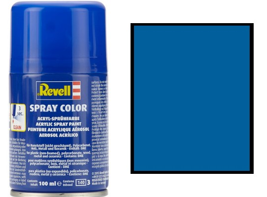 Revell 100ml 34152 052 Blue Gloss Acrylic Spray