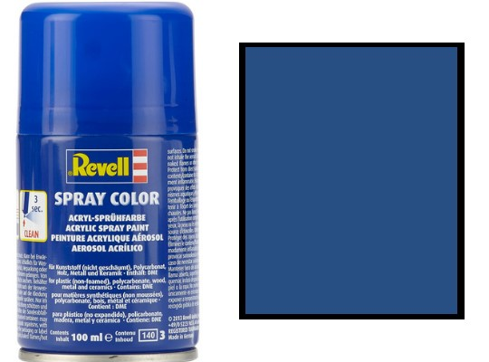 Revell 100ml 34156 056 Blue Matt Acrylic Spray