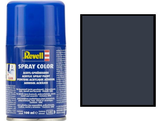Revell 100ml 34178 078 Tank Grey Matt Acrylic Spray