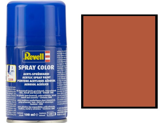 Revell 100ml 34185 085 Brown Matt Acrylic Spray