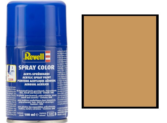 Revell 100ml 34188 088 Ochre Brown Matt Acrylic Spray