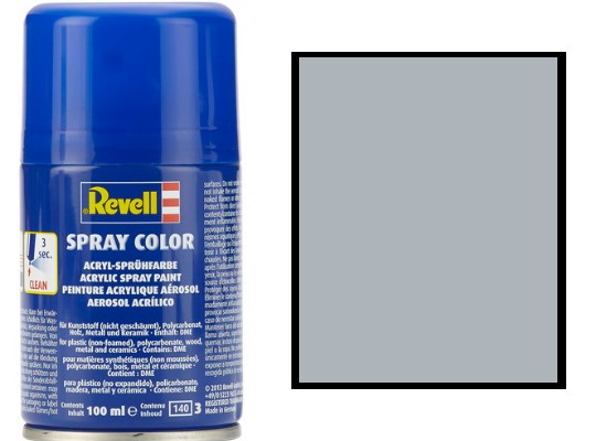 Revell 100ml 34190 090 Silver Metallic Acrylic Spray