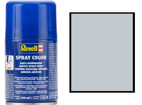 Revell 100ml 34199 099 Aluminium Metallic Acrylic Spray