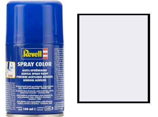 Revell 100ml 34301 301 White Silk Acrylic Spray