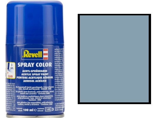 Revell 100ml 34374 330 Grey Silk Acrylic Spray
