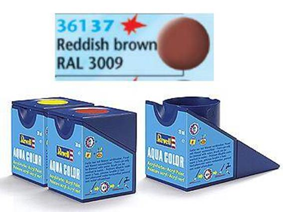 Revell 18ml 36137 37 Acrylic Matt - Reddish Brown