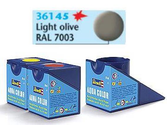 Revell 18ml 36145 45 Acrylic Matt - Light Olive