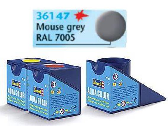 Revell 18ml 36147 47 Acrylic Matt - Mouse Grey