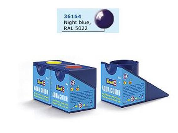 Revell 18ml 36154 54 Acrylic Gloss - Night Blue