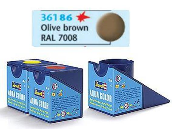 Revell 18ml 36186 86 Acrylic Matt - Olive Brown