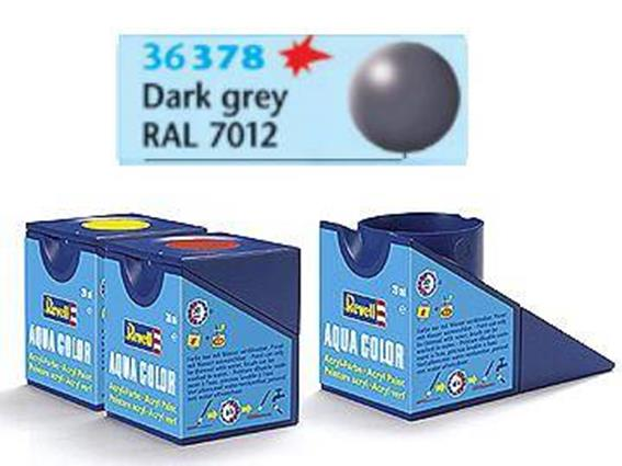 Revell 18ml 36378 378 Acrylic Silk - Dark Grey