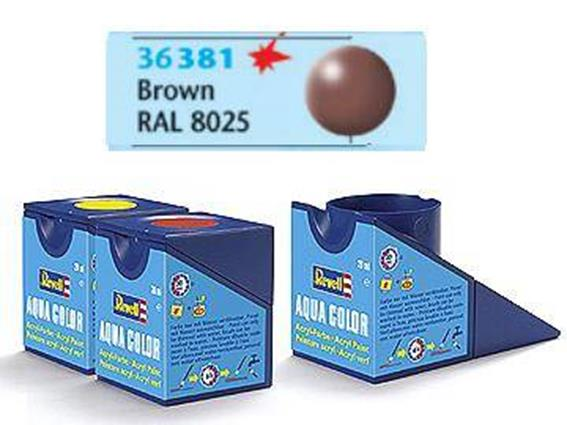 Revell 18ml 36381 381 Acrylic Silk - Brown