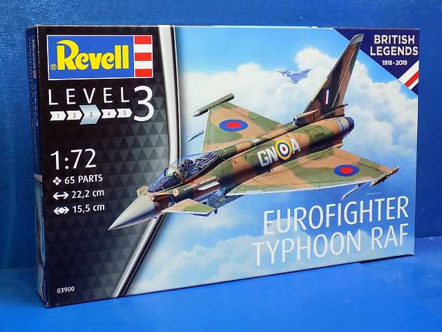 Revell 1/72 3900 100 Years RAF Eurofighter Typhoon