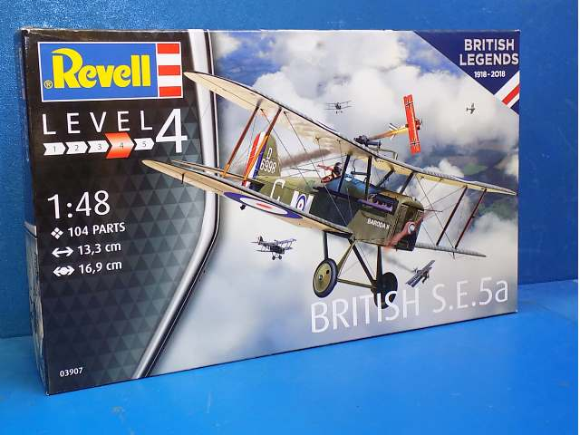 Revell 1/48 3907 British Legends 100 Years RAF: British S.E. 5a