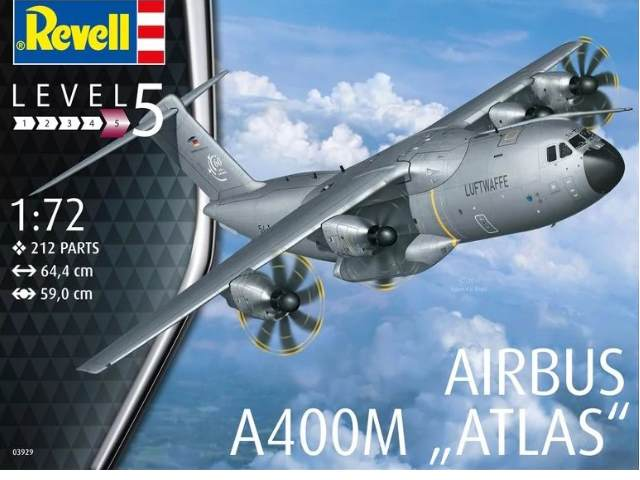Revell 1/72 3929 Airbus A400M ATLAS - Limited Stock at this price