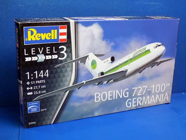 Revell 1/144 3946 Boeing 727-100 GERMANIA
