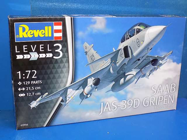 Revell 1/72 3956 Saab JAS-39D Gripen Twin Seater
