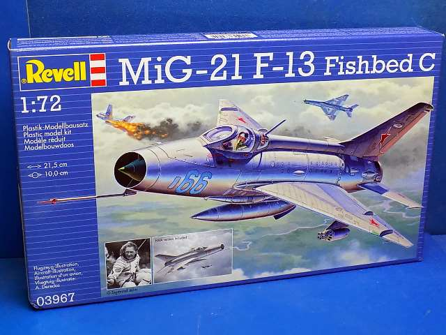 Revell 1/72 3967 MiG-21 F.13 Fishbed C